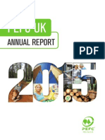 PEFC UK Annual Report 2015