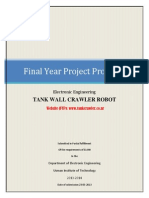FYP Proposal (Tank Wall Crawler Robot)