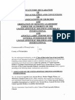 Statutory Declaration of Association of Churches (PDF)