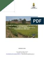 Informe de Levantamiento de La Informacion de La Poblacion Objetivo Asi Como de La Infraestructura Afectada Por El Fenomeno Del Niño 2015