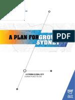 Plan Estratégico de Crecimiento Sydney 2015