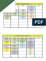 Raspored Ljetni dSemestar 2014 15 III i IV Godina V1