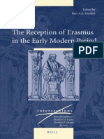 (Intersections_ Interdisciplinary Studies in Early Modern Culture 30) Karl a. E. Enenkel-The Reception of Erasmus in the Early Modern Period-Brill Academic Publishers (2013)