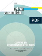 Geometria Analítica - Curvas em Coordenadas Polares