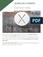 Cómo instalar Mac OS X Yosemite desde USB