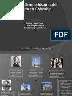 Linea de Tiempo Historia Del Petroleo en Colombia