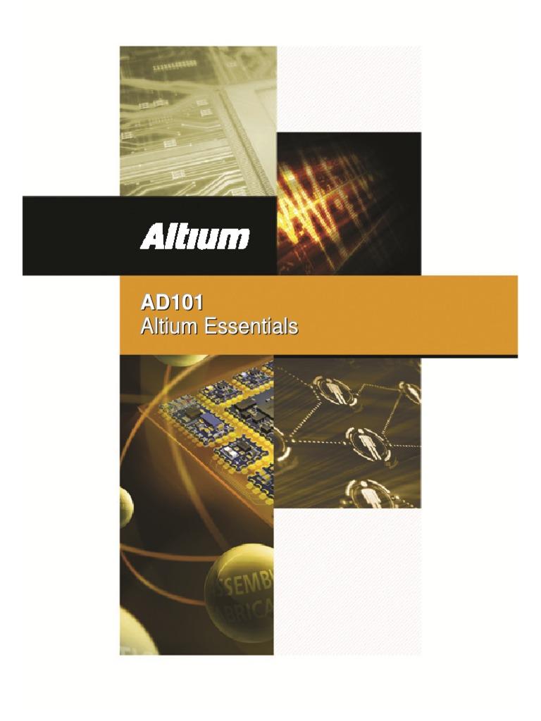 Manual Altium 2014 | Printed Circuit Board | Tab (Gui)
