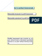 4. Traseul in Profil Transversal