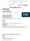 Objective Solved Questions Civil Engineering. « Practice Tests Objective Tests Free Download Many Online Tests Exams for India Exams