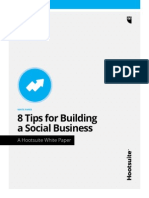 8 Tips For Building A Social Business