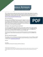Thomas Jefferson School of Law - Private Loans