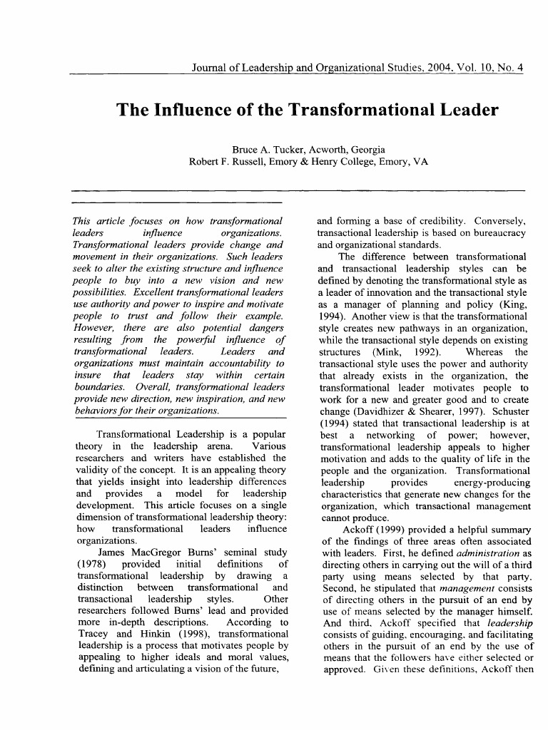 Essay about nursing leadership
