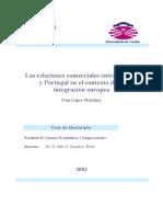 Las Relaciones Comerciales Entre Espana y Portugal en El Contexto de La Integracion Europea 0