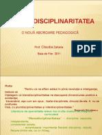 Transdisciplinaritatea o Noua Abordare Pedagogica
