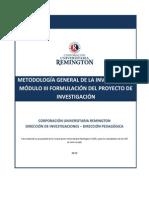 Metodologia General de La Investigacion M3