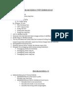 Program Kerja Unit Kebidanan Dan Cs