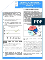 Balance Of Payments - Q4-14