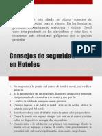 Consejos de Seguridad en Hoteles