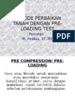 PRE LOADING TEST