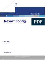Nexio Config Users Guide
