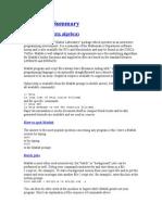 Matlab Summary