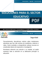 Metrolink Soluciones Sector Educativo