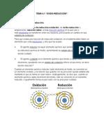 TEMA 4.1 Oxido-redox