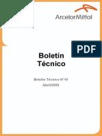 Boletin Tecnico N 10