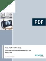 Data Sheet Avantic - Arco en C