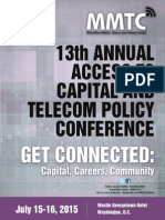 2015 Access to Capital Conference Agenda