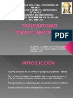 Traumatismo Toraco-Abdominal a Exponer.ppt