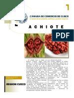 Diversificacion Productiva Del Achiote