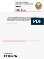 Presentacion de tesis SIG