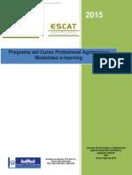 Programa Curso Profesional Agrimensor