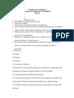 Comentarios cuestionario Estudiantes 2014-15
