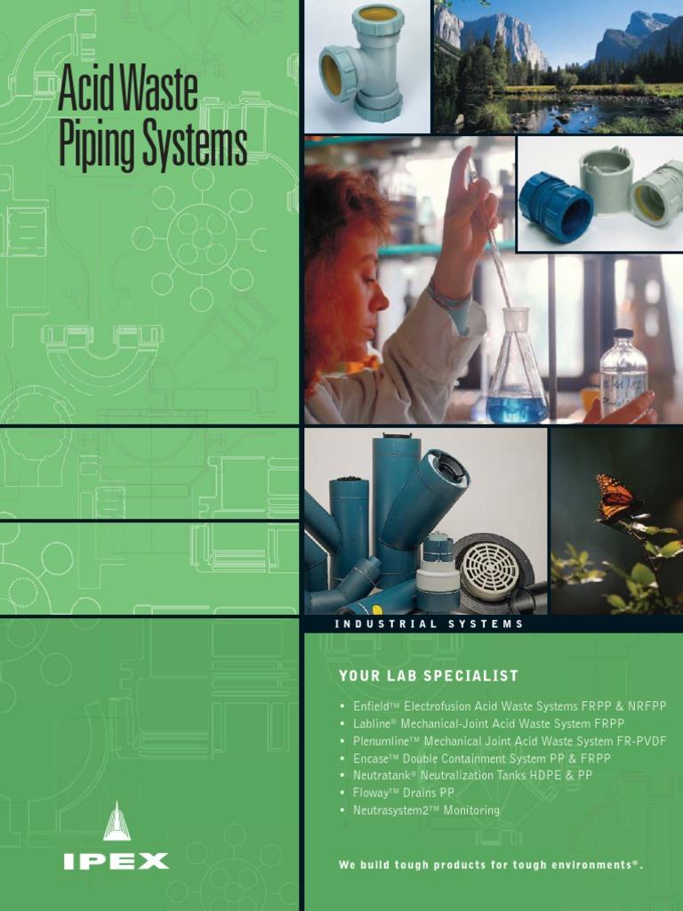 IPEX Acid Waste Catalogue | Plumbing | Pipe (Fluid Conveyance)