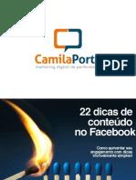 Ebook Conteúdo para o Facebook