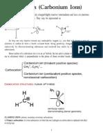 Organic Reactive Intermedites