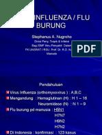 Penatalaksanaan Flu Burung Revisi