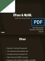 DTrace and MySQL Presentation