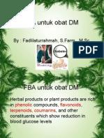 FBA Untuk Obat DM