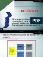 Robotica I - Sesion 4 - Herramientas de Localización Espacial