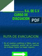 Curso Ruta de Evacuacion