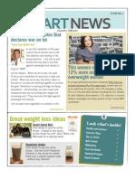 Smart For Life Cookie Diet News Letter Jan - Feb 2010