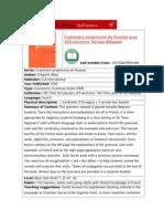 Fiche 45 Grammaire Progressive Debutant Ok PDF