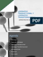 Liderazgo Transaccional y Transformacional - Grupo 3