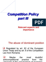 Curs 6 MEA 2013 Abuse of Dominant Position