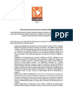 Pronunciamiento CLADEM Perú- 28 de Mayo 2015