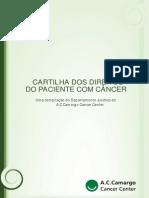 Cartilha Direitos Do Paciente Com Câncer