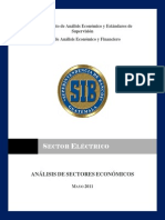 Estudio Del Sector Eléctrico, Referido a 2011-05